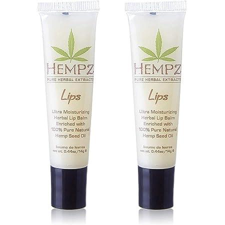 HEMPZ Non SPF Lip Balm Set of 2 .44 oz each