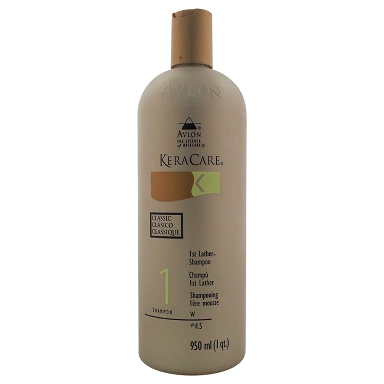 モルヒネ手綱ゴルフAVLON Keracare 1st Lather Shampoo, 32 Ounce by Avlon
