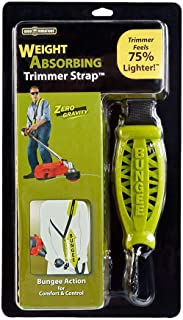 Good Vibrations Zero Gravity - Universal Weight Absorbing String Trimmer Strap with Bungee PRO-X System & Deluxe Comfort Shoulder Pad - Reliefs Body Tensions & Stabilizes Trimmer for Maximum Control