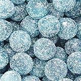 Mega Sour Raspberry Fizz Bombs 500 Gram Bag (1/2 Kilo) / 17.6 Ounces