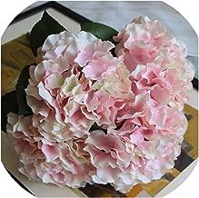 5 Fork Heads Artificial Flowers Hydrangea Bouquet Silk Flower Real Touch Fake Flower for DIY Home Wedding Birthday Decor P10,4