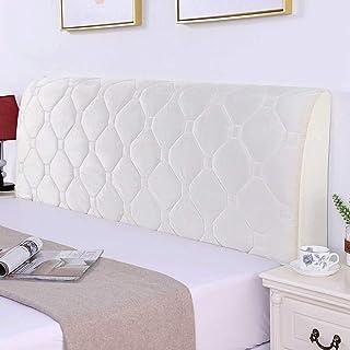 Fundas para cabecero de cama doble, individual, king y queen, elásticas, fundas nobles para cabecero, protector de cabecero, grueso (color: F, tamaño: 190 cm)