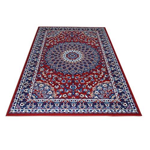 WEBTAPPETI.IT Tappeto Motivo Classico Persiano - Tappeto Economico Rosso Royal Shiraz 2082-RED 160x230