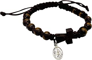 JWG Industries Saint Joseph Total Consecration Bracelet with Holy Card