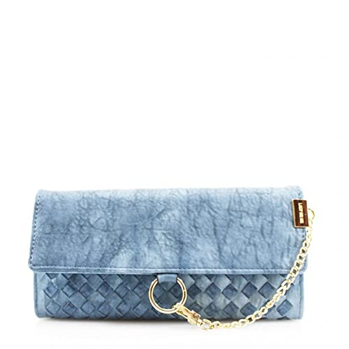 cf2d1d816f76 LeahWard® Women s Woven Design Purse With Front Chain Detail Wallet For  Women