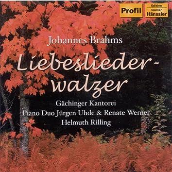 Brahms: Liebeslieder Waltzes Op. 52 / Neue Liebeslieder Waltzes Op. 65