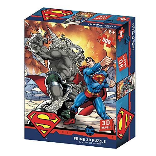 Redstring Puzzle lenticular DC Comics Superman vs, Doomsday 300 Piezas (Efecto )