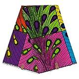ACAMPTAR Afrika Druckt Batik Patchwork 100% Baumwolle