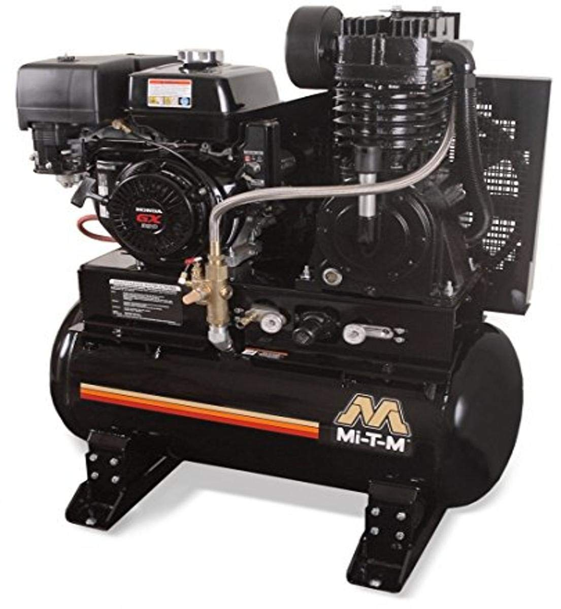 Mi-T-M ABS-13H-30H Tank-Mounted Bargain 2 Stage Air Compressor 30 gal 5 popular