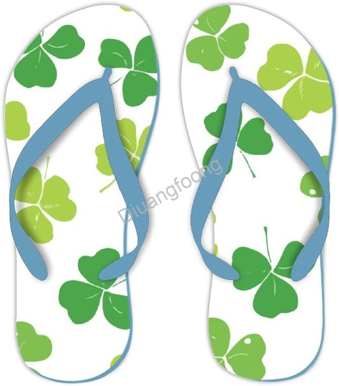 St. Patrick's Day Flip Los Angeles Mall Flop Cheap bargain Casual San Sandals Pretty Thong Soft