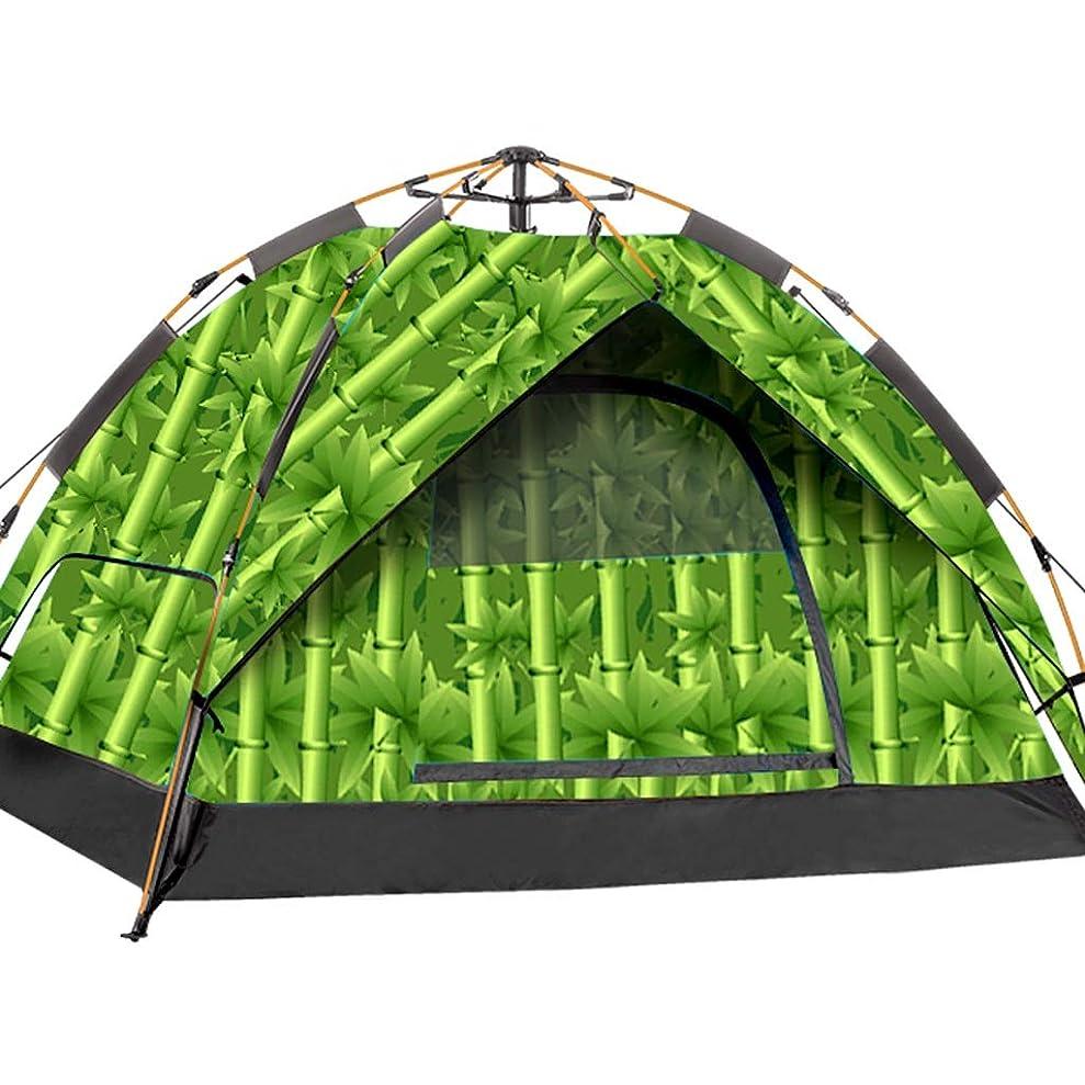 年西部ナチュラルテント 自動 ポップアップテント キャンプ 油圧式 防水 印刷 折りたたみ式 ライトテント、8色 シャンボ0527 (Color : C)