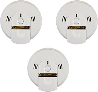 Kidde KN-COSM-IBA Carbon Monoxide & Smoke Detector, 120V Hardwired Talking w/Battery Backup (21006377) - Pack of 3