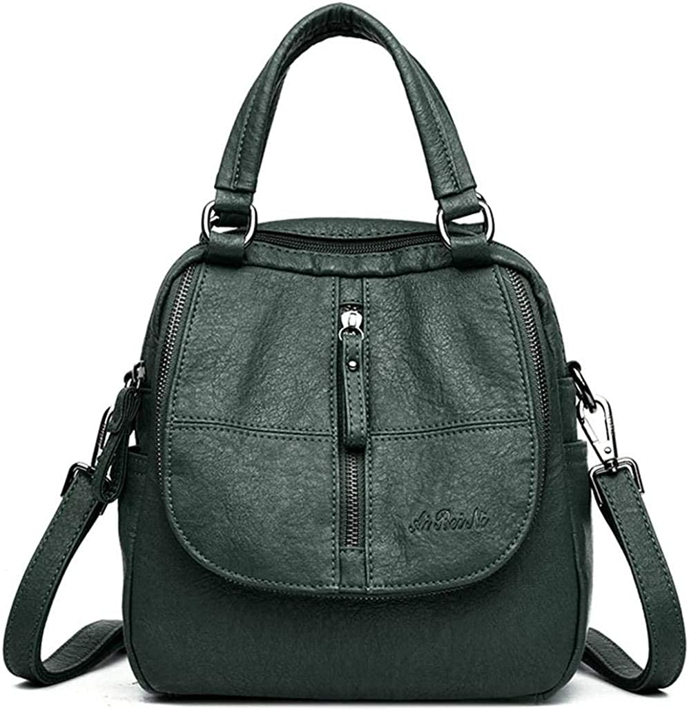 ACOMOO Fashion Backpack Challenge the lowest price of Japan ☆ Women High-end Soft Multifunction Boston Mall PU Lea