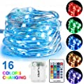CYLAPEX Multi Color 5m 50 Led Fairy Lights