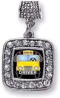 silver school bus