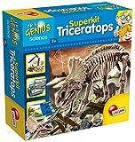 Lisciani 56439 Superkit Triceratops Archäologie