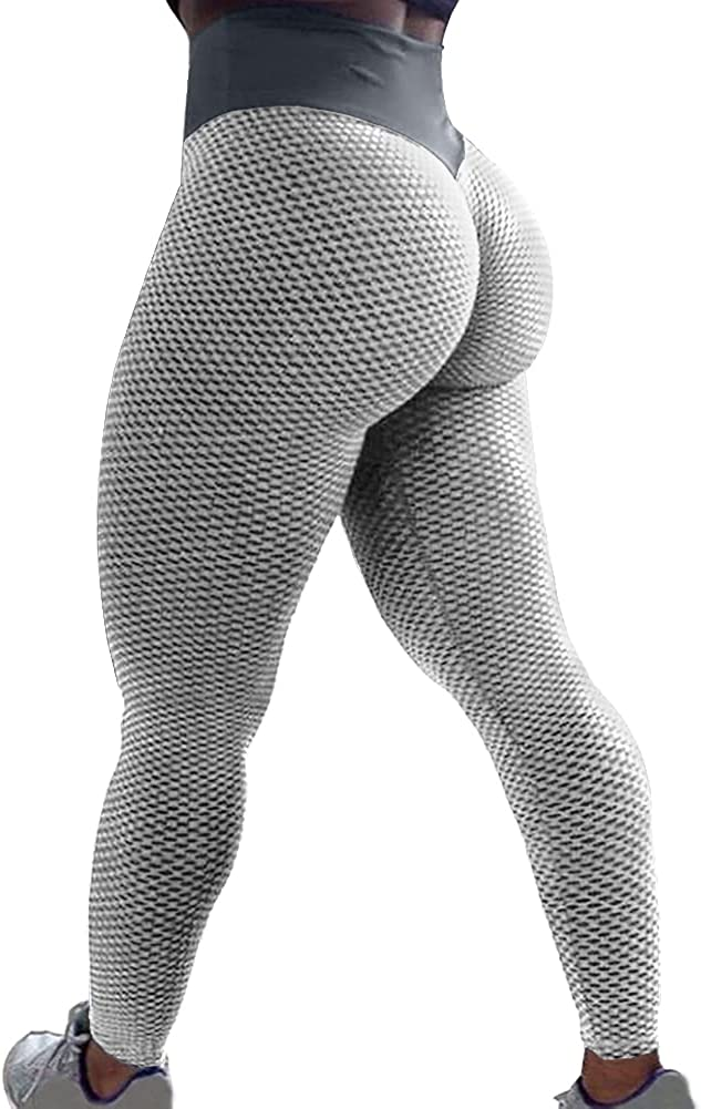 SZKANI Women's High Waist 25% OFF Yoga Pants Tummy Superior Butt Control Lifting