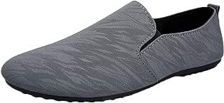 ANZLOU& Fashion Summer Retro Lazy peas Shoes England Shoes Lightweight Fashion Men Shoes