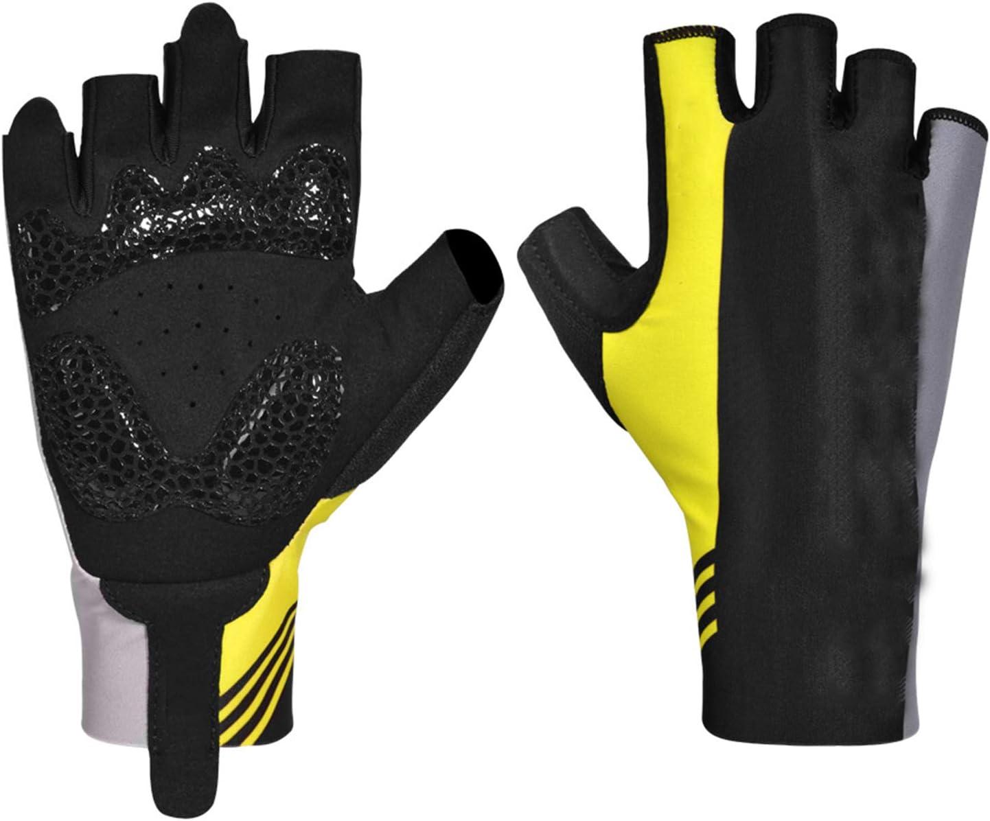 Overseas parallel import regular item Cycling Gloves Mountain Finally resale start Half Finger Gel Lycra Micr Padded