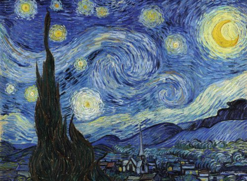 Tomax Starry Night 4000 Piece Vincent van Gogh Jigsaw Puzzle