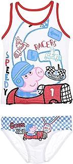 "Camiseta de tirantes y Slip Peppa Pig ""Georges"" para niño"