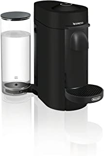 Nespresso ENV150BM VertuoPlus Coffee and Espresso Machine by De'Longhi, Black Matte