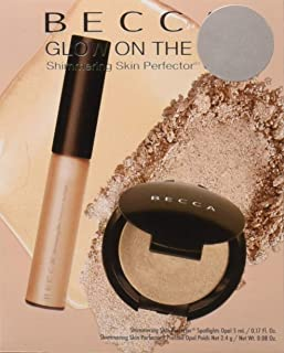 Becca 2 Piece Opal Glow On The Go Shimmering Skin Perfector Set, 1.2 Ounce