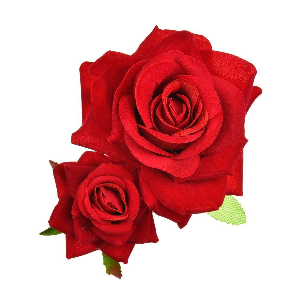 English Rose,Flower Wavy Bobby Pins,Wedding Hair Piece,Hair Accessories,Novelty Hair Clips,Party Favors,Girl/'s Hair Accessories,Flower Clips
