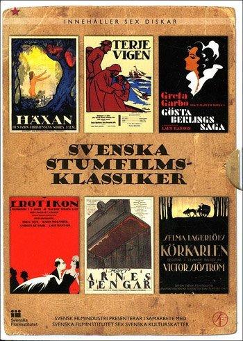 Swedish Silent Film Classics Collection - 6-DVD Box Set ( Häxan /...