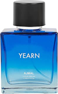 Ajmal Yearn Eau De Parfum Aquatic Perfume 100ml Casual Wear for Men + 2 Parfum Testers Free