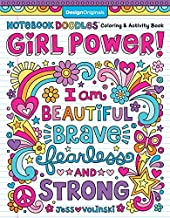 Notebook Doodles Girl Power! Coloring & Activity Book (Design Originals) 32 Inspiring, Beginner-Friendly Art Activities to Boost Confidence & Self-Esteem in Tweens, on High-Quality Perforated Paper