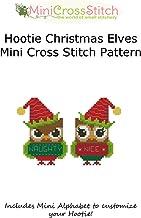 Hootie Christmas Elves Mini Cross Stitch Chart