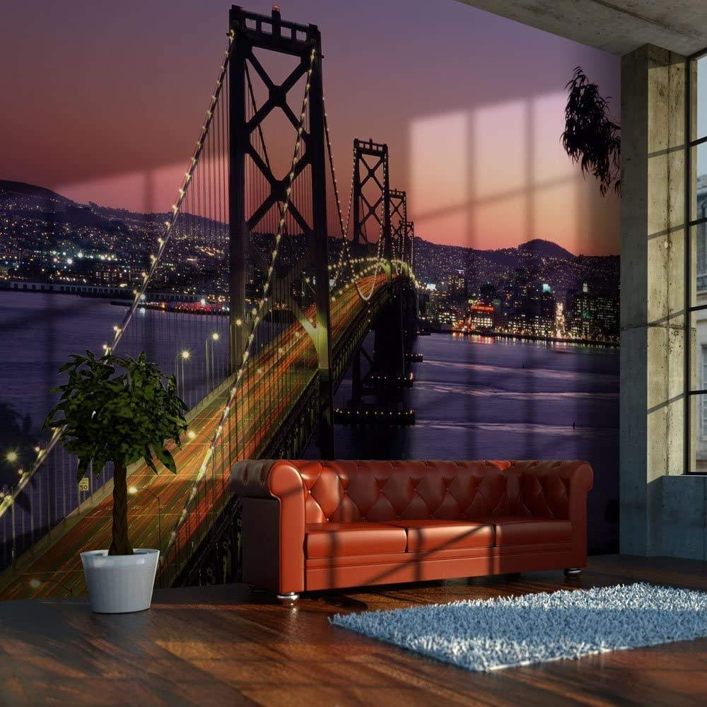 Mural Discount is also underway Wall Photo 3D Viaduct-250x175CM 2021 new City Modern