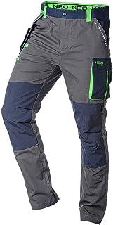 Grupa Topex Neo Men's Work Tradesman Ripstop Trousers Combat Cargo Pants 100% Cotton Cordura Reinforcement