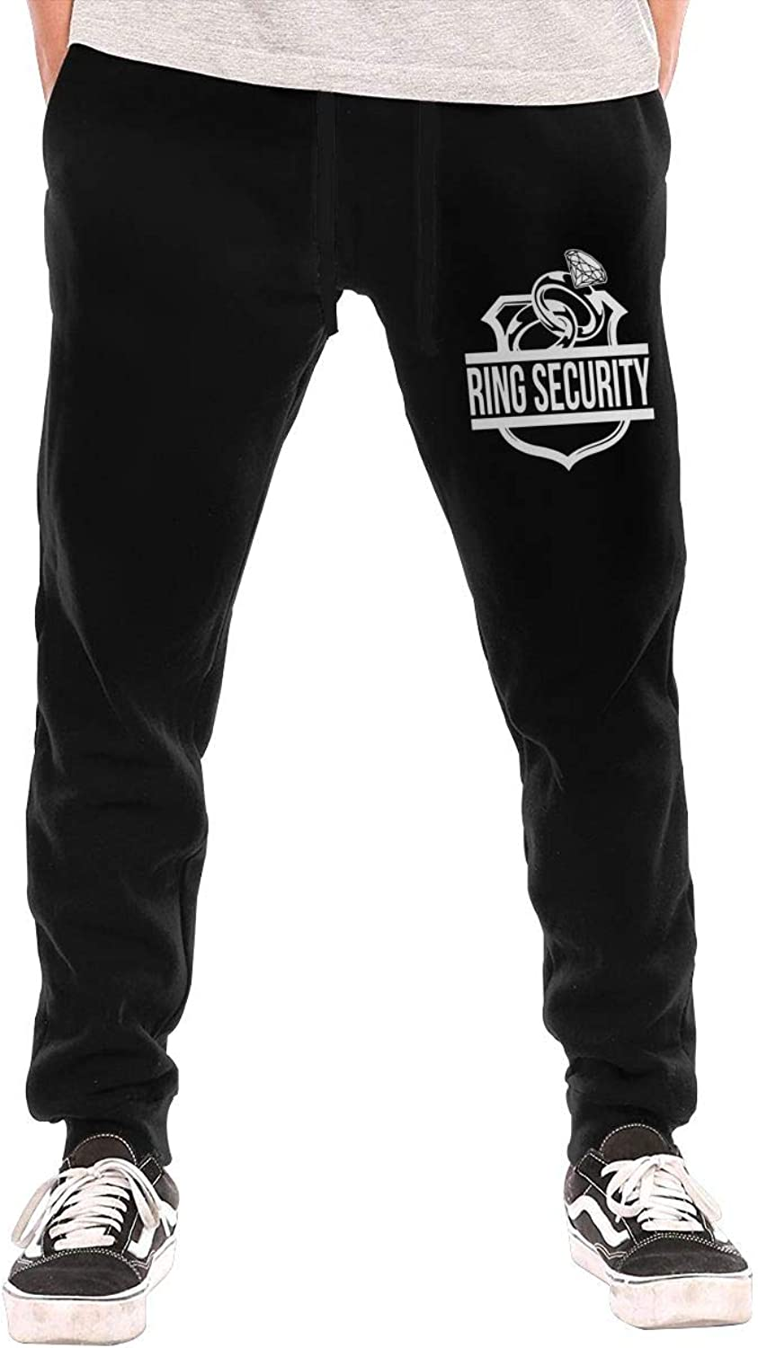 Men's Ring Security Joggers Pants with Pockets