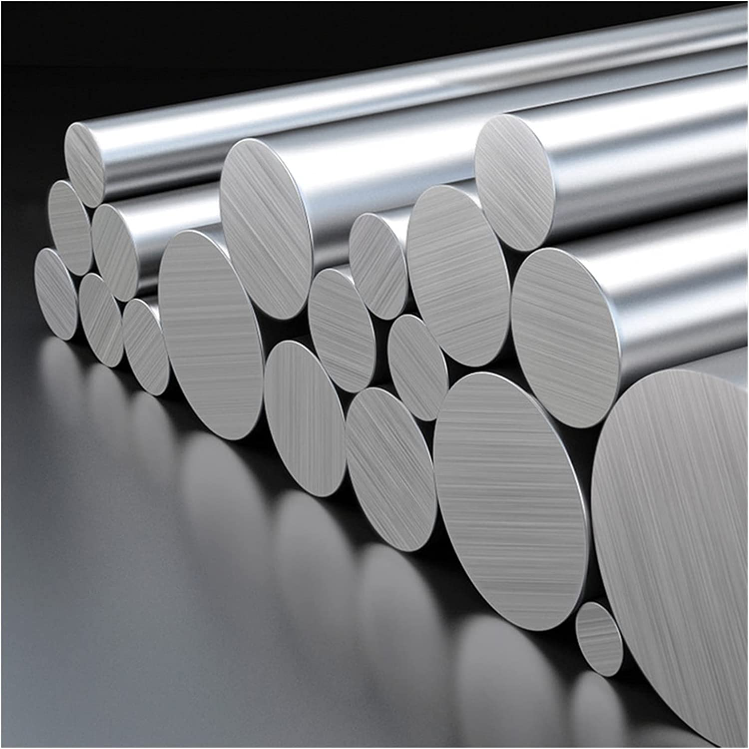 Stainless Steel Rod 3mm 4mm Rail Discount mail order Bar Silver Linear Ground Free Shipping New