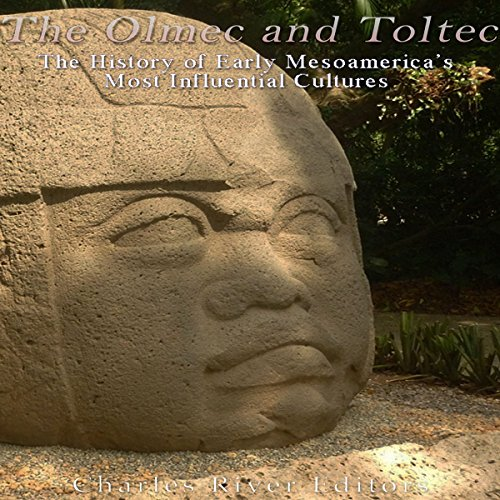 The Olmec and Toltec audiobook cover art
