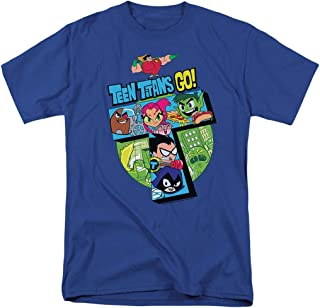 Teen Titans Go! Team Adult T Shirt & Stickers
