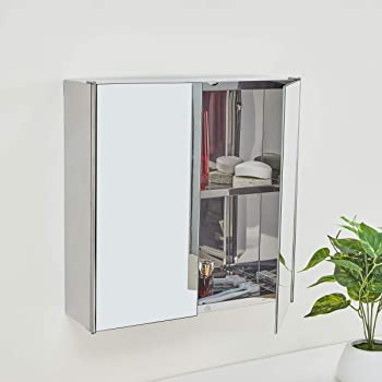 Home Centre Orion Ella Wall Mounted Mirror Cabinet