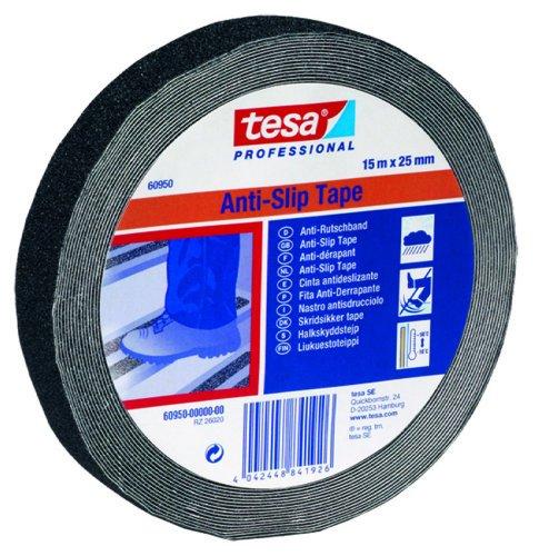 Tesa Tape. S.A. - Cinta antideslizante negra 15m x 50mm
