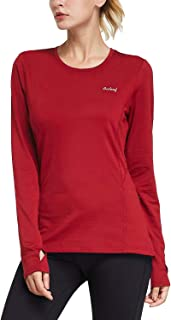 red running shirt womens