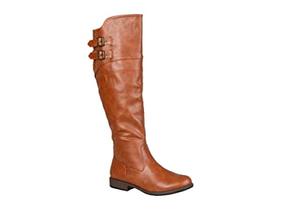 Journee Collection Tori Boot (Chestnut) Women