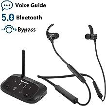 Avantree HT5006 Wireless Headphones Earbuds for TV Watching, Neckband Earphones Hearing..