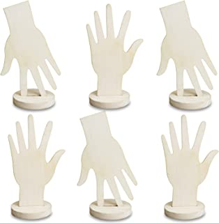 Best wooden hand display Reviews