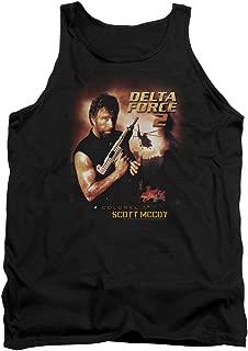 Delta Force 2 MGM Chuck Norris Film Colonel Scott McCoy Adult Tank Top Shirt