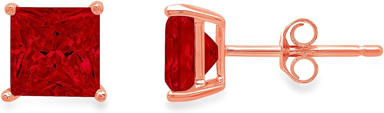 Clara Pucci 2.0 ct Brilliant Cut Solitaire Princess Wholesale VVS1 Flawles Cheap SALE Start
