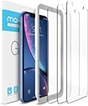 Maxboost Screen Protector Compatible with Apple iPhone 11 and iPhone XR (6.1 Inch) (3 Pack, Clear) 0.25mm Tempered Glass Screen Protector w/ Advanced HD Clarity / Case Friendly 99% Touch Accurate