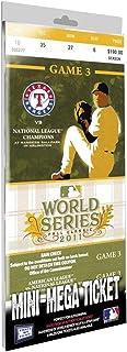 MLB Texas Rangers 2011 World Series Mini-Mega Ticket