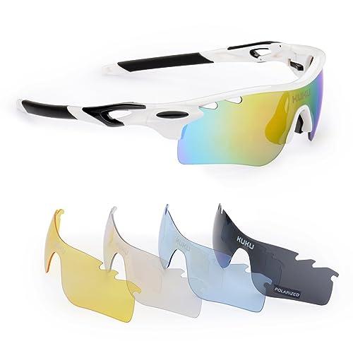 76f1d35591 FiveBox Polarized U.V Protection Sports Glasses
