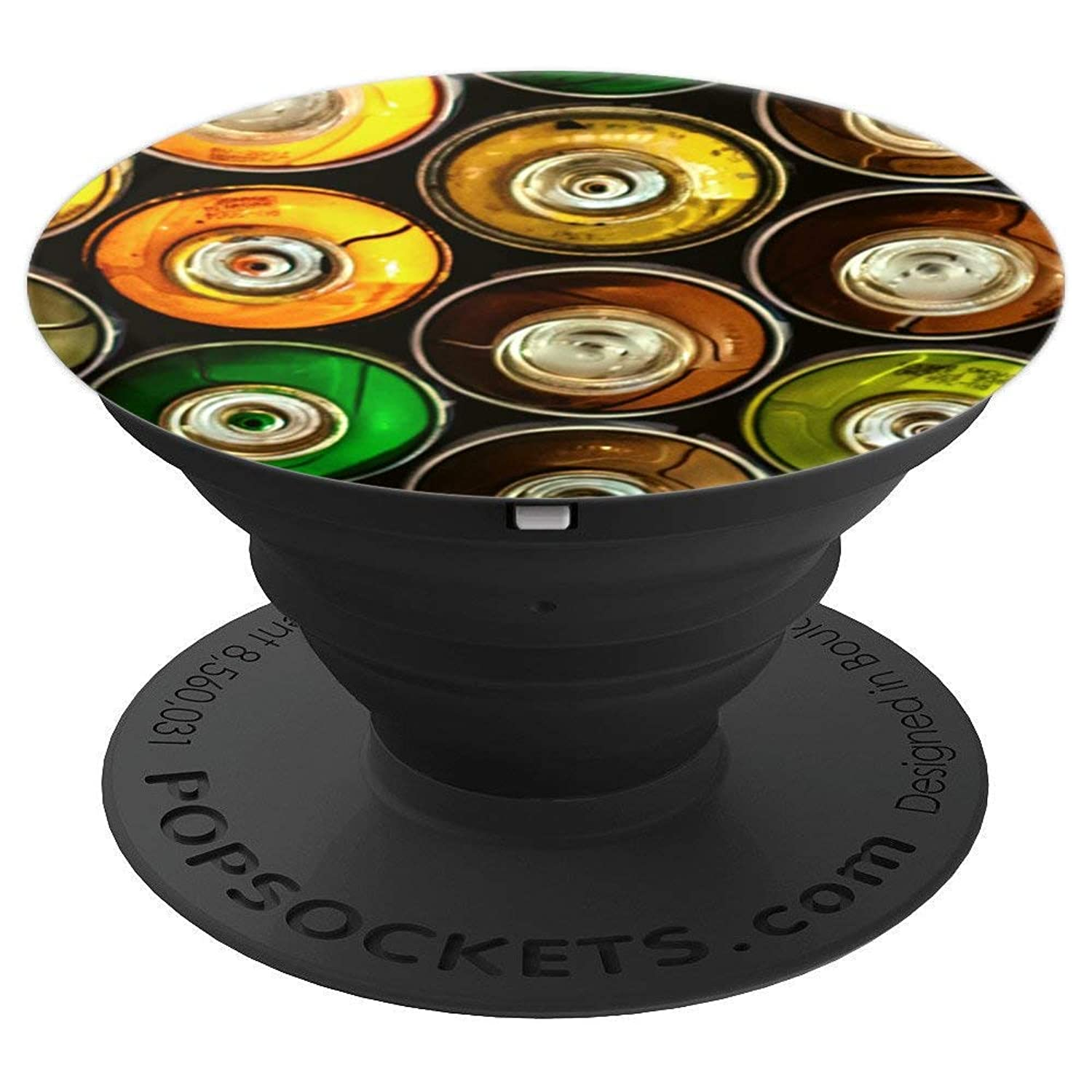 Graffiti Spray Paint Pattern - PopSockets Grip and Stand for Phones and Tablets